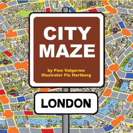 City Maze - London - Brettspill